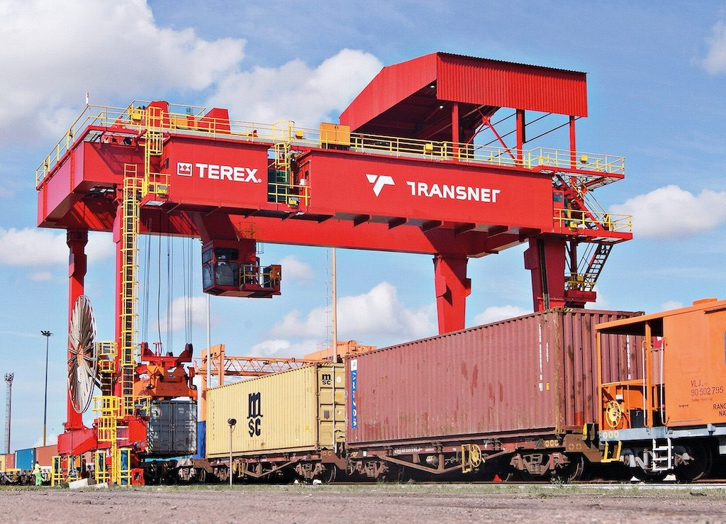 We helped Masimini Solutions deliver Container Crane(RFG) Parts for TRANSET